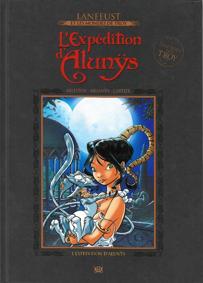 Couverture de Lanfeust et les mondes de Troy - La collection (Hachette) -44- L'expedition d'Alunys