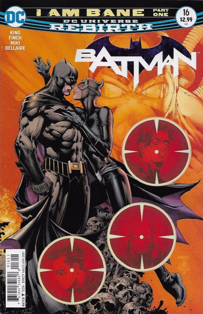 Couverture de Batman (2016) -16- I am Bane, Part One