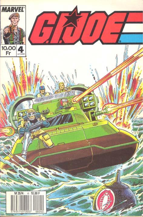 Couverture de G.I. Joe (1988) -4- G.I. Joe