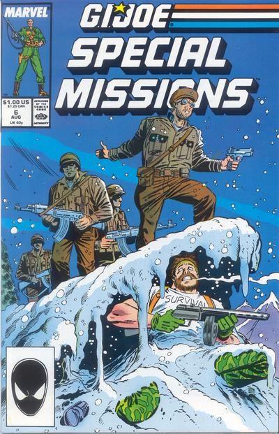 Couverture de G.I. Joe: Special Missions (1986) -6- Evasion