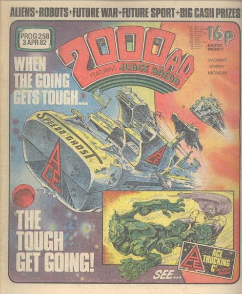 Couverture de 2000 AD (1977) -258- 2000 AD
