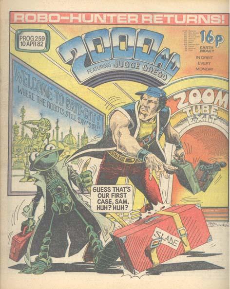 Couverture de 2000 AD (1977) -259- 2000 AD