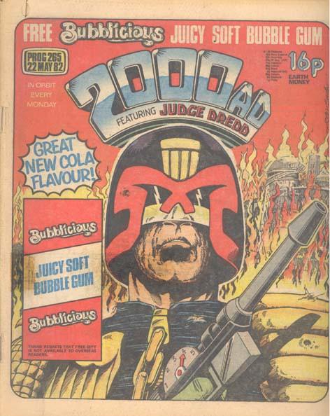 Couverture de 2000 AD (1977) -265- 2000 AD