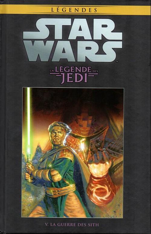Couverture de Star Wars - Légendes - La Collection (Hachette) -328- La Légende des Jedi - V. La Guerre des Sith