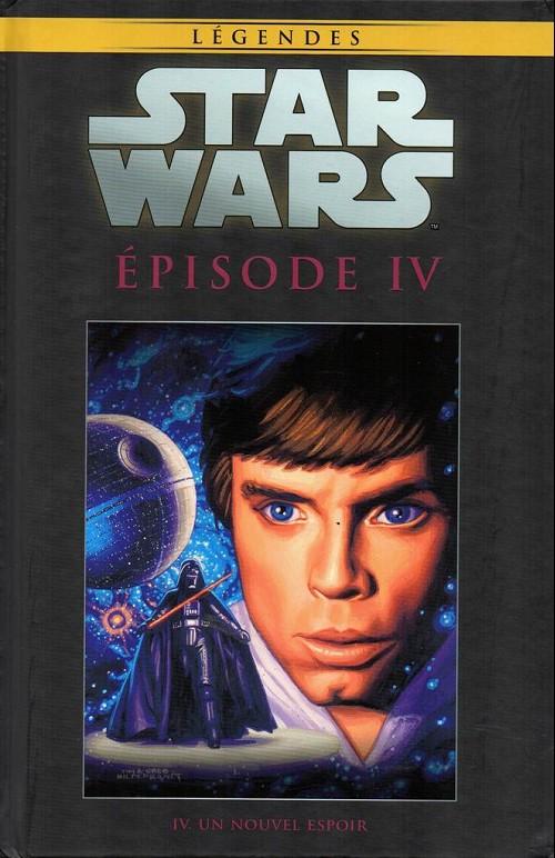 Couverture de Star Wars - Légendes - La Collection (Hachette) -3353- Épisode IV. Un Nouvel Espoir