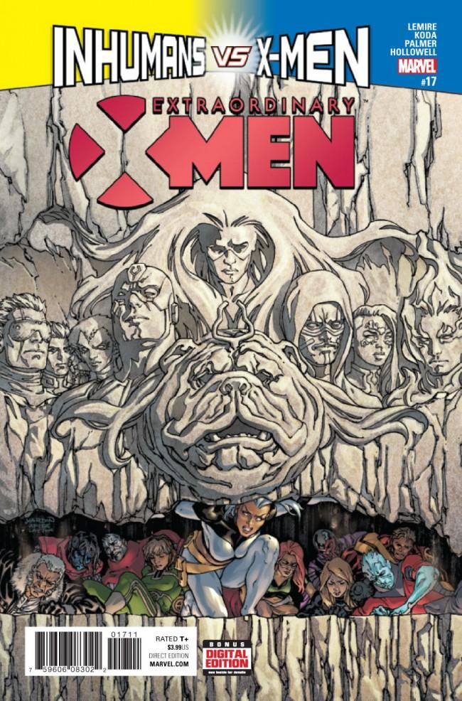Couverture de Extraordinary X-Men (2016) -17- Extraordinary X-Men #17