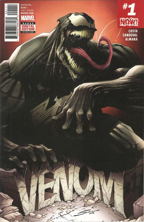 Couverture de Venom Vol. 3 (Marvel comics - 2017) -1- Venom #1