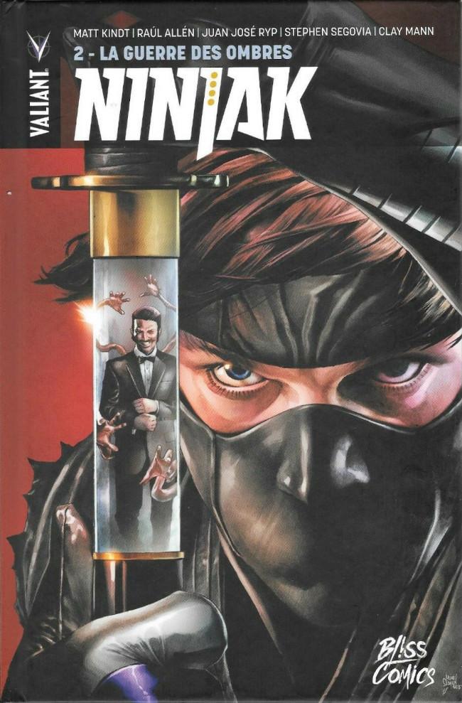 Couverture de Ninjak -2- La Guerre des ombres