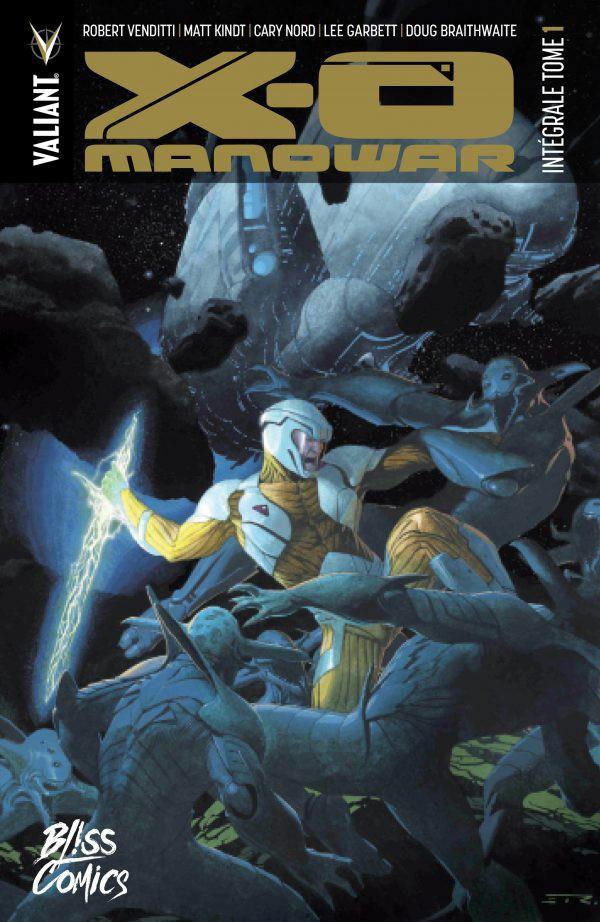 Couverture de X-O Manowar -INT01- Intégrale Tome 1