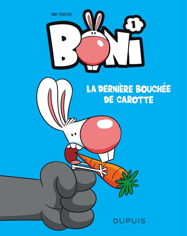 Couverture de Boni -1- La dernière bouchée de carotte