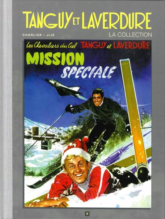 Couverture de Tanguy et Laverdure - La Collection (Hachette) -9- Mission spéciale