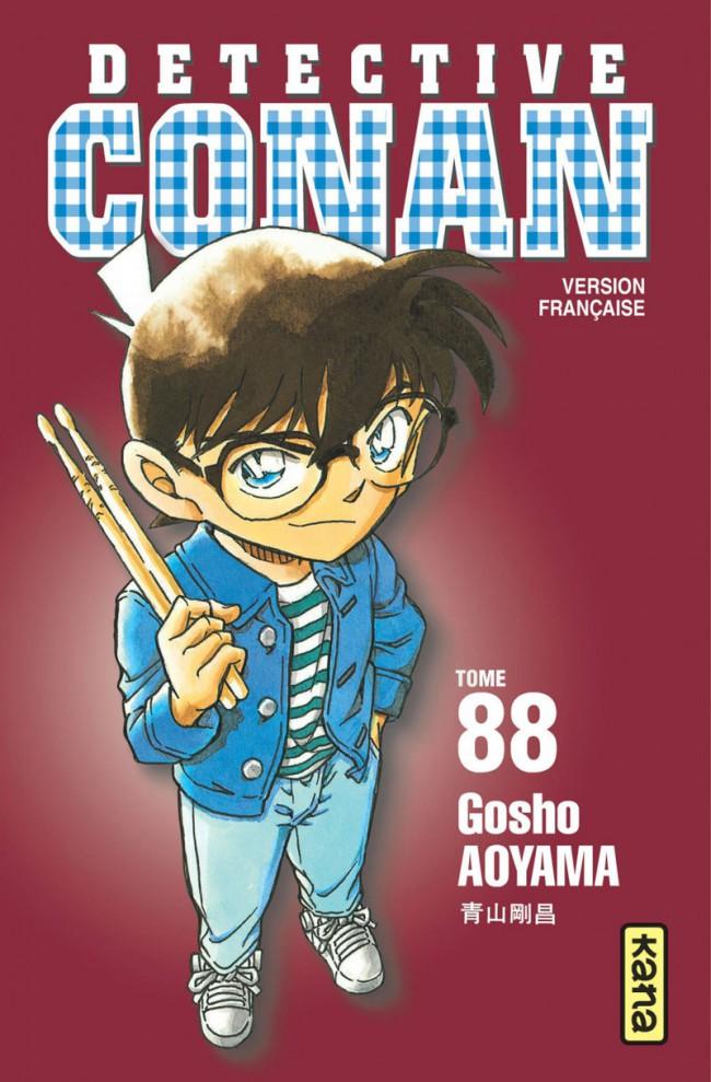 Couverture de Détective Conan -88- Tome 88
