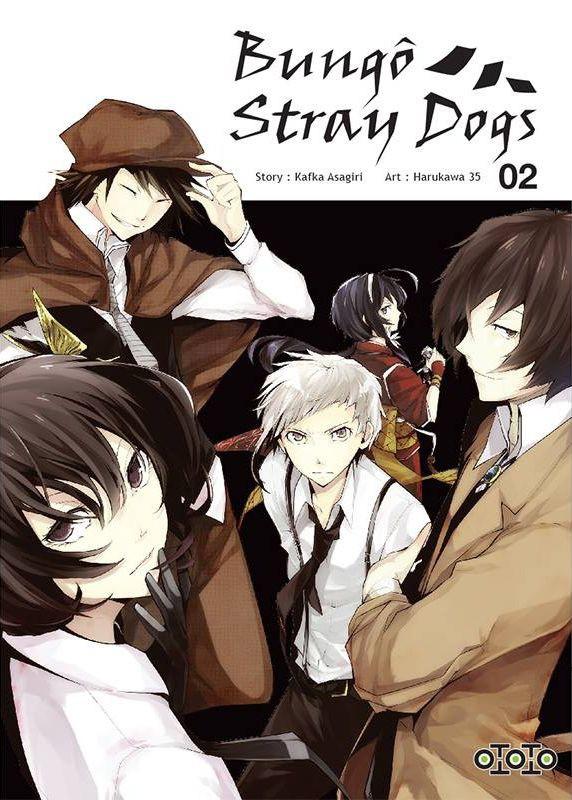 Couverture de Bungô Stray Dogs -2- Tome 2