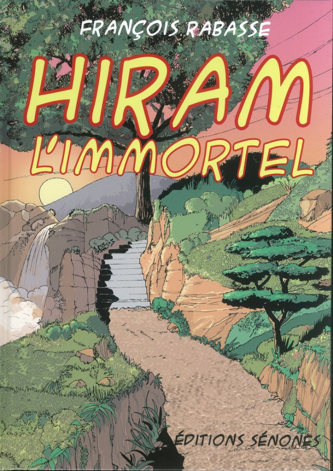 Couverture de Hiram l'immortel - Hiram L'immortel