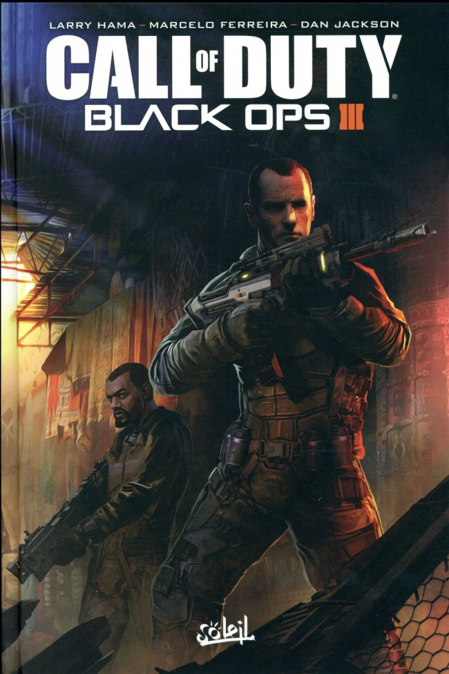 Couverture de Call of Duty - Black OPS III