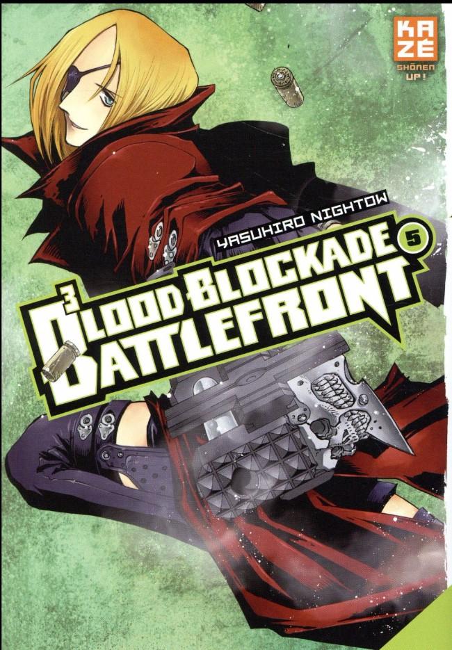 Couverture de Blood Blockade Battlefront -5- Tome 5