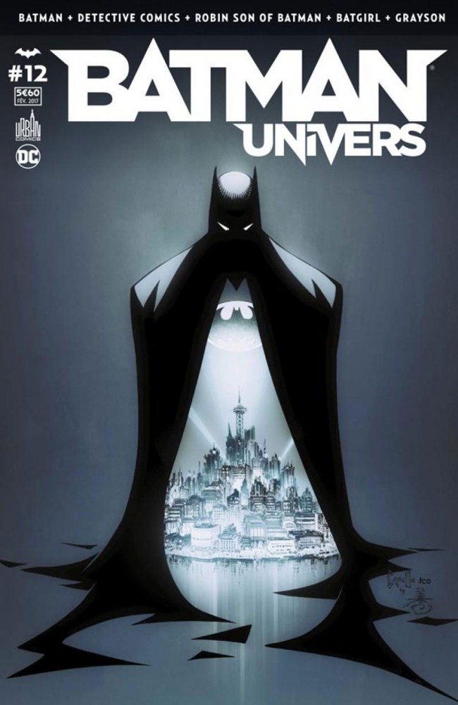 Couverture de Batman Univers -12- Numéro 12