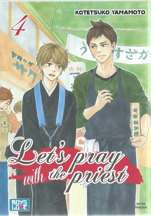 Couverture de Let's pray with the priest - Tome 4