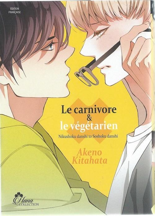 Couverture de Le carnivore et le végétarien