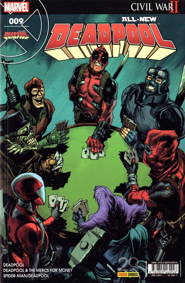 Couverture de All-New Deadpool -9- Guerre civile 2 quoi ?