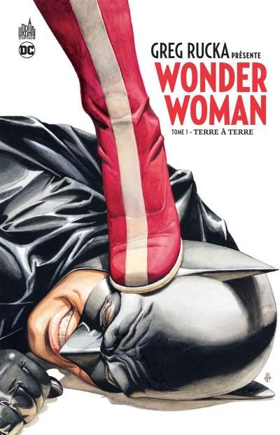 Couverture de Wonder Woman (Greg Rucka présente) -1- Terre à terre