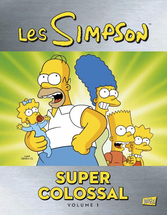 Couverture de Les simpson (Super colossal)  -1- Volume 01