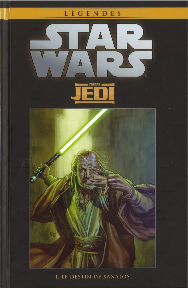 Couverture de Star Wars - Légendes - La Collection (Hachette) -3422- L'Ordre Jedi - I. Le destin de Xanatos