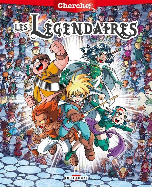 Couverture de Les légendaires -HS1- Cherche... les légendaires