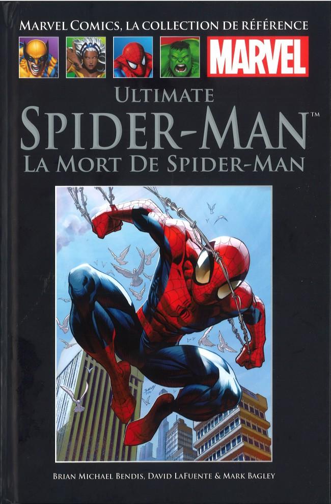 Couverture de Marvel Comics - La collection (Hachette) -7875- Ultimate Spider-Man - La Mort de Spider-Man