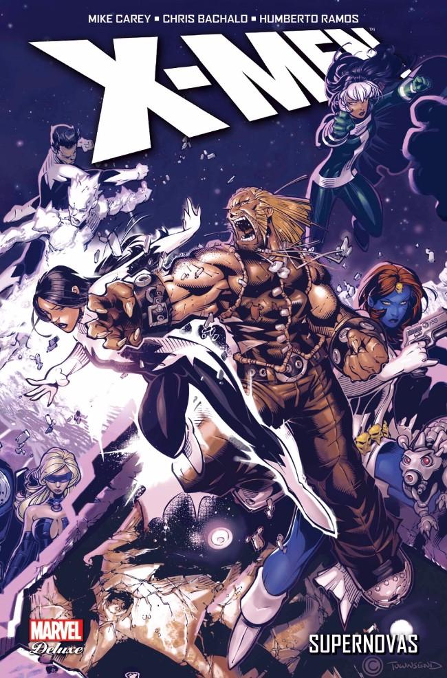 Couverture de X-Men (Marvel Deluxe) - Supernovas