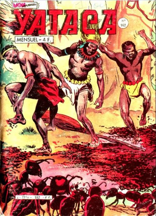 Couverture de Yataca (Fils-du-Soleil) -162- La mort rouge