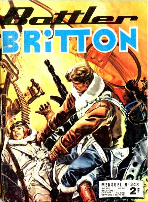 Couverture de Battler Britton (Imperia) -343- Livraison à domicile
