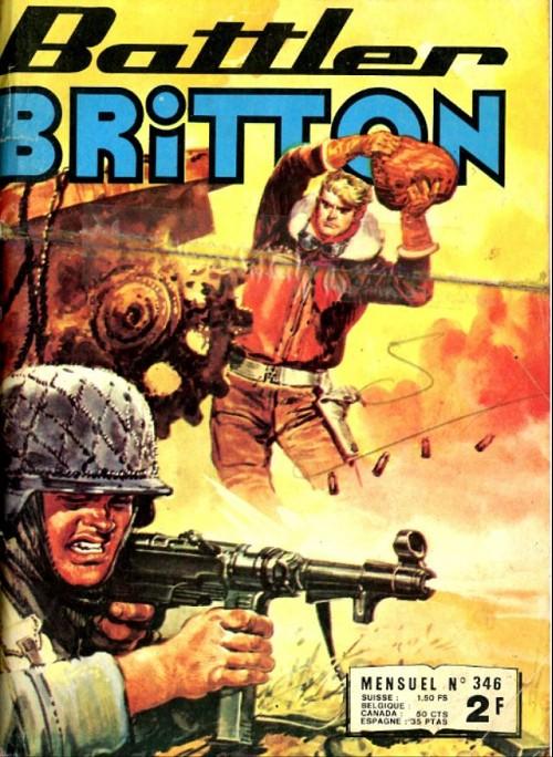 Couverture de Battler Britton -346- La route de birmanie