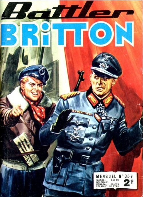 Couverture de Battler Britton -357- Le guerrier du ciel