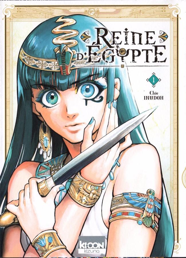 Couverture de Reine d'Égypte -1- Tome 1