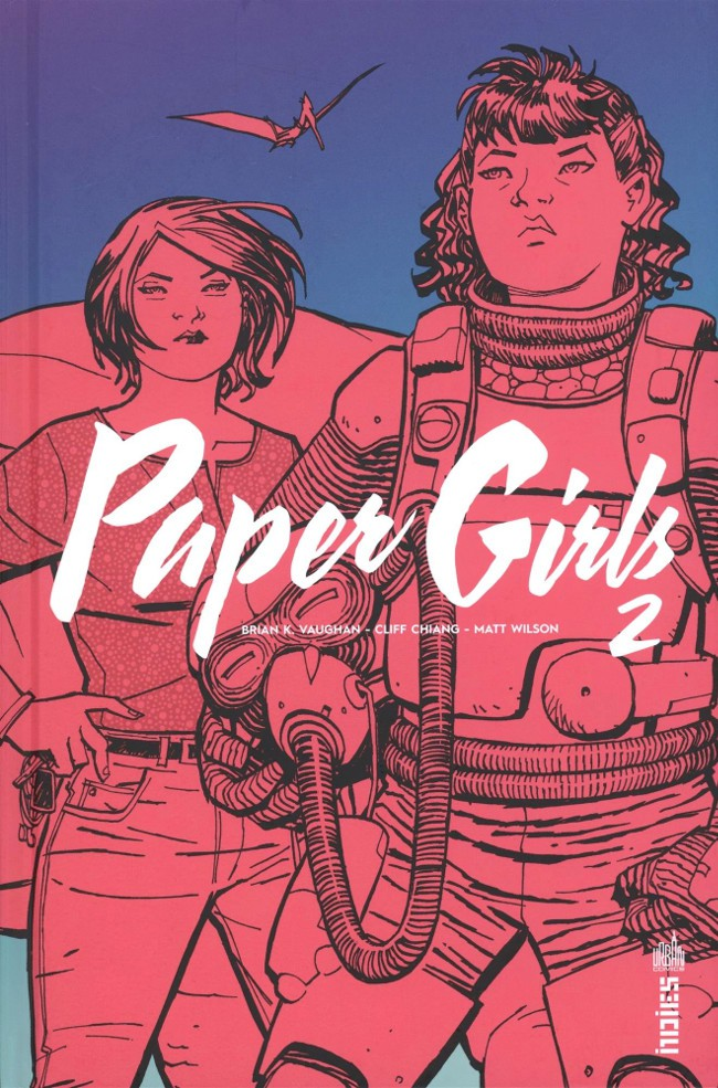 Couverture de Paper Girls -2- Tome 2