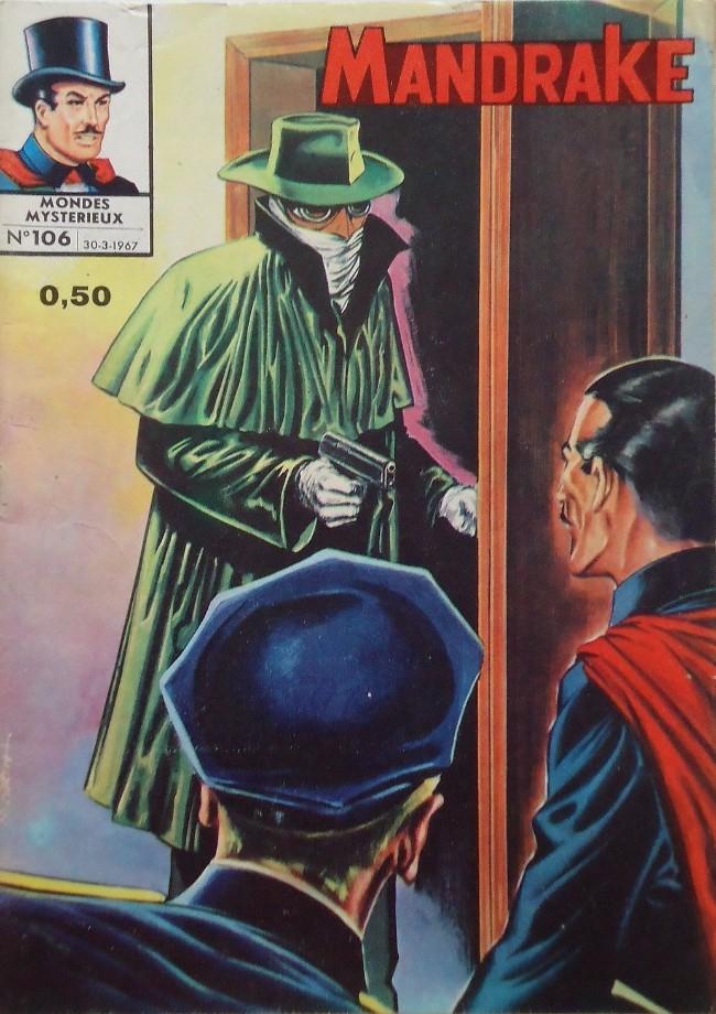 Couverture de Mandrake (1e Série - Remparts) (Mondes Mystérieux - 1) -106- Le sorcier noir