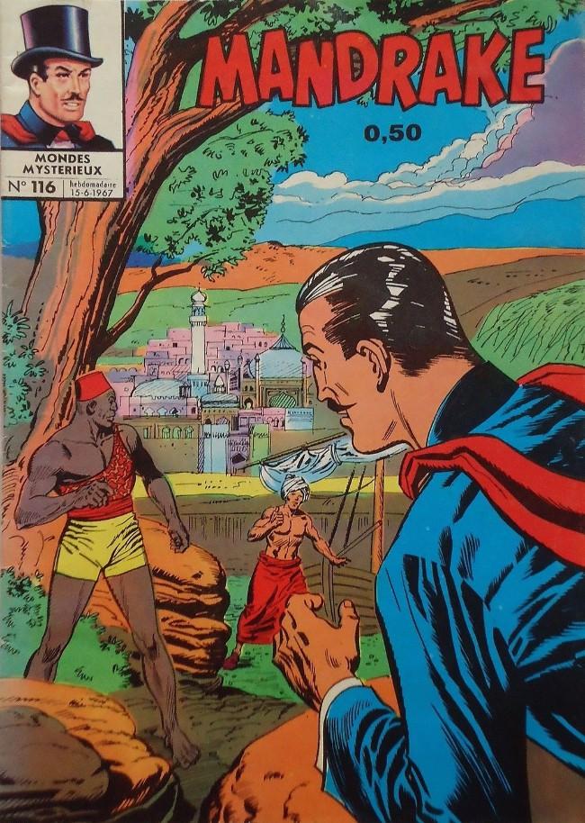 Couverture de Mandrake (1re Série - Remparts) (Mondes Mystérieux - 1) -116- Une dette de jeu