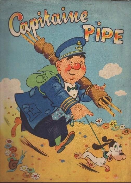 Couverture de Capitaine Pat'folle - Capitaine Pipe