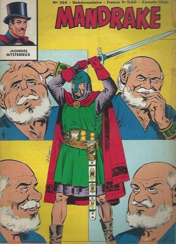 Couverture de Mandrake (1re Série - Remparts) (Mondes Mystérieux - 1) -264- Le secret du docteur Oork - 2