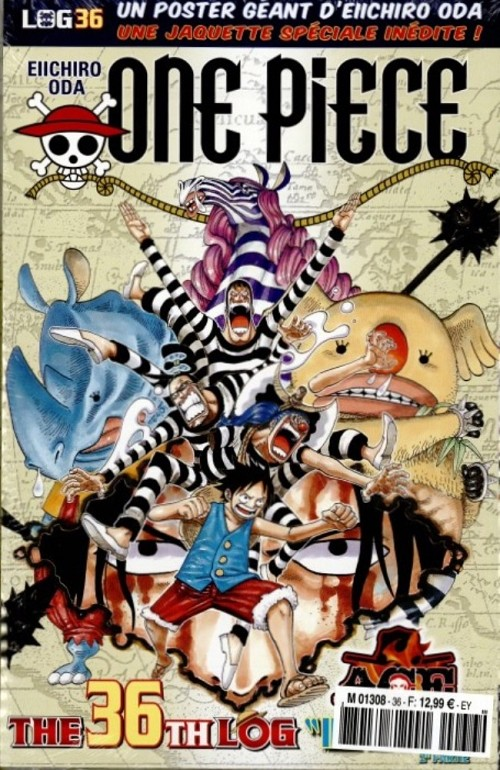 Couverture de One Piece - La collection (Hachette) -36- The 36th Log