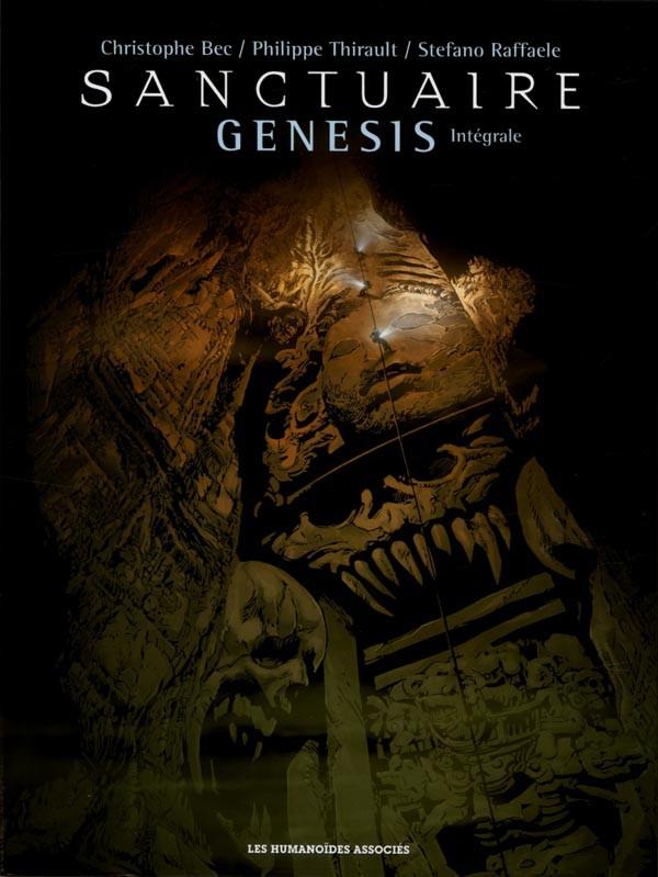 Couverture de Sanctuaire Genesis -INT- Intégrale