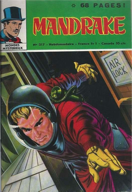 Couverture de Mandrake (1re Série - Remparts) (Mondes Mystérieux - 1) -317- Les mangeurs d'or - 2