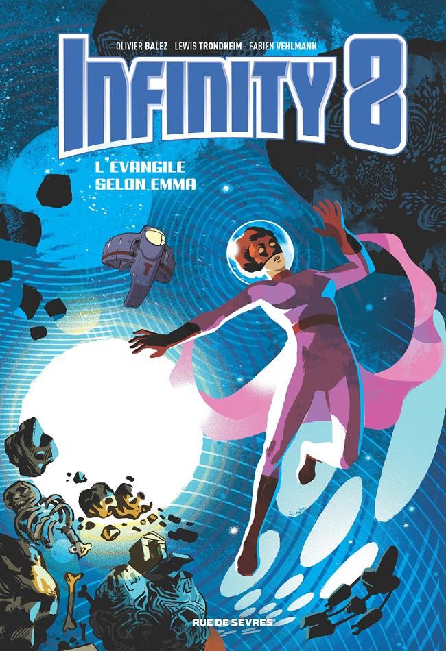 Couverture de Infinity 8 -3- L'Évangile selon Emma