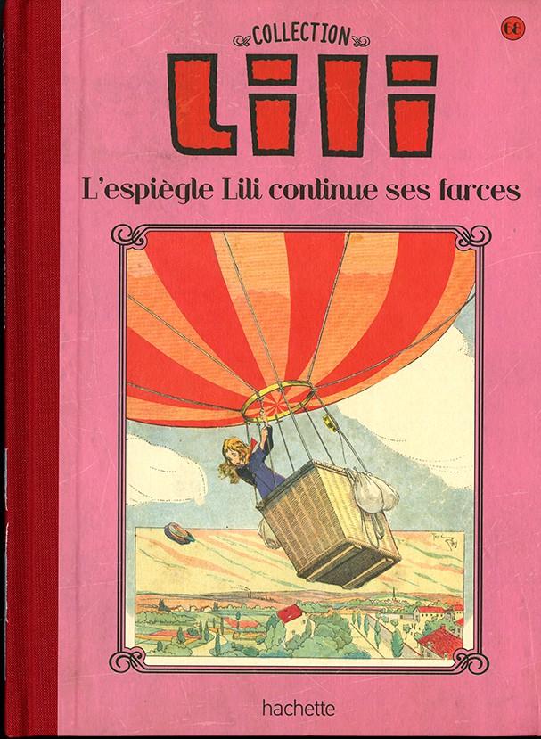 Couverture de Lili - La collection (Hachette) -68- L'espiègle Lili continue ses farces