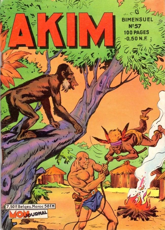 Couverture de Akim (1re série) -57- La réunion des grands chefs