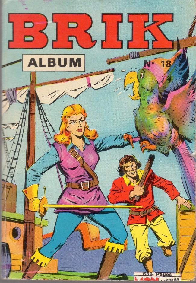Couverture de Brik (Mon journal) -Rec18- Album N°18 (du n°69 au n°72)