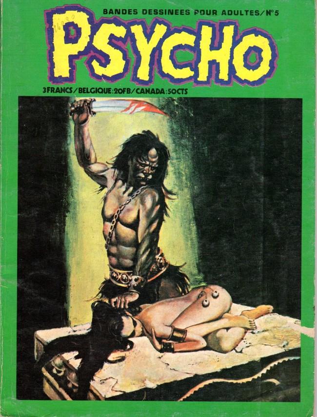 Couverture de Psycho -5- La sorcière guillotinée