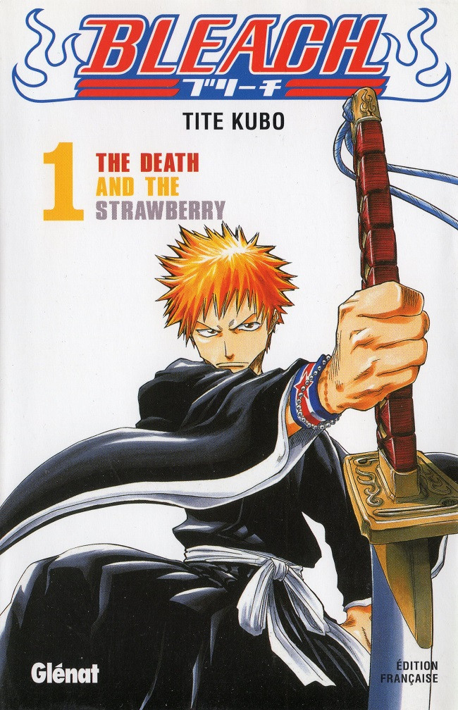 Couverture de Bleach -1- The Death and the Strawberry
