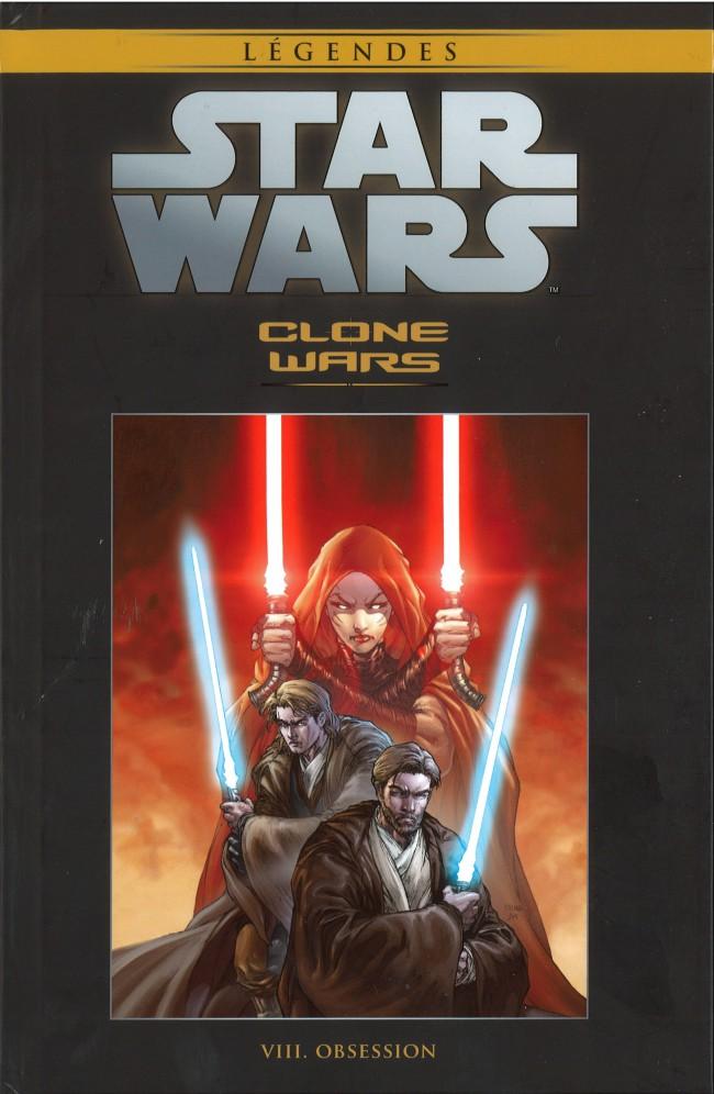 Couverture de Star Wars - Légendes - La Collection (Hachette) -3533- Clone Wars - VIII. Obsession